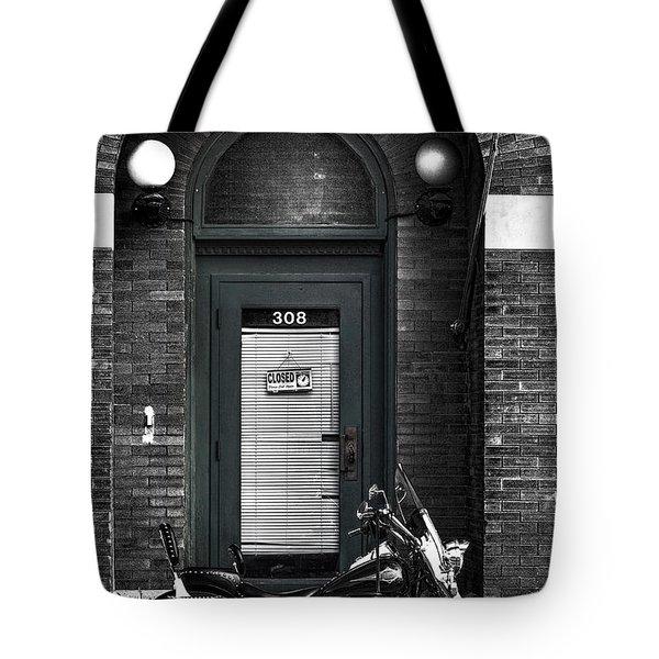 Wayne's Harley Tote Bag