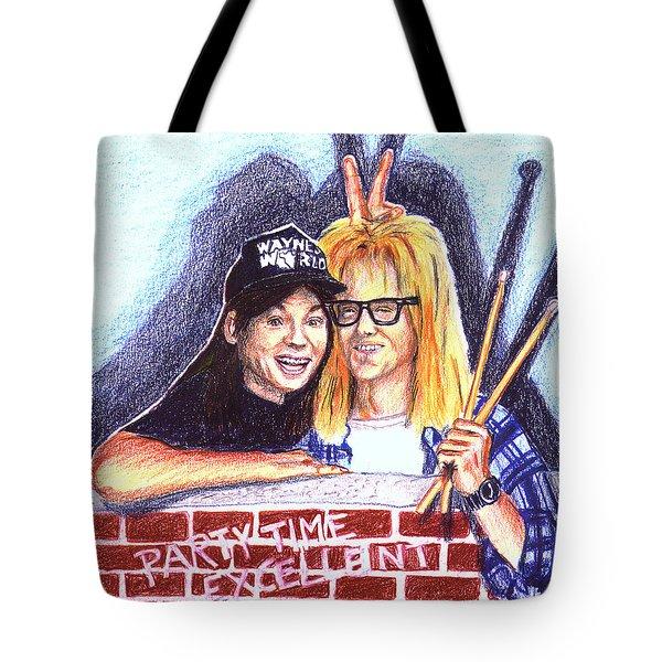Wayne's World Tote Bag