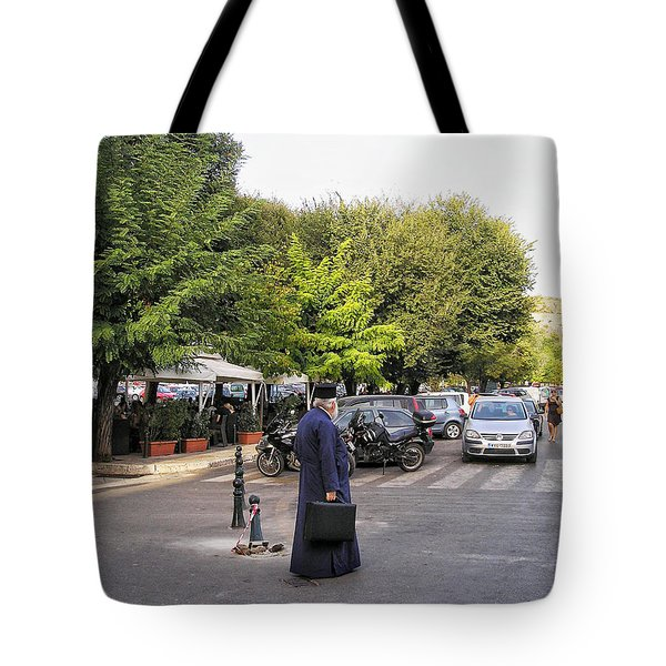 Tote Bag featuring the photograph Ways To Stop Traffic  by Connie Handscomb