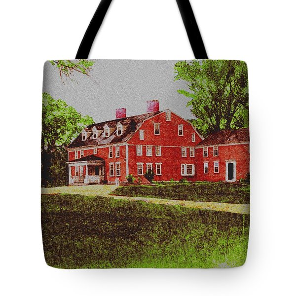 Wayside Inn 1875 Tote Bag