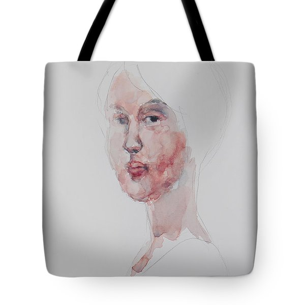 Wc Mini Portrait 1             Tote Bag by Becky Kim