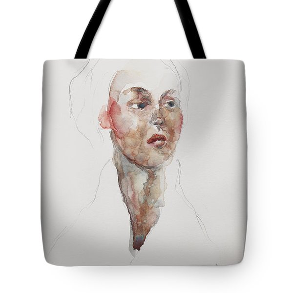 Wc Mini Portrait 4             Tote Bag by Becky Kim