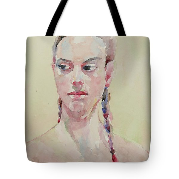 Wc Portrait 1619 Tote Bag by Becky Kim