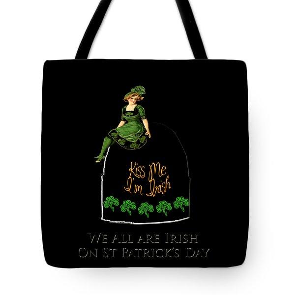 We All Irish This Beautiful Day Tote Bag by Asok Mukhopadhyay