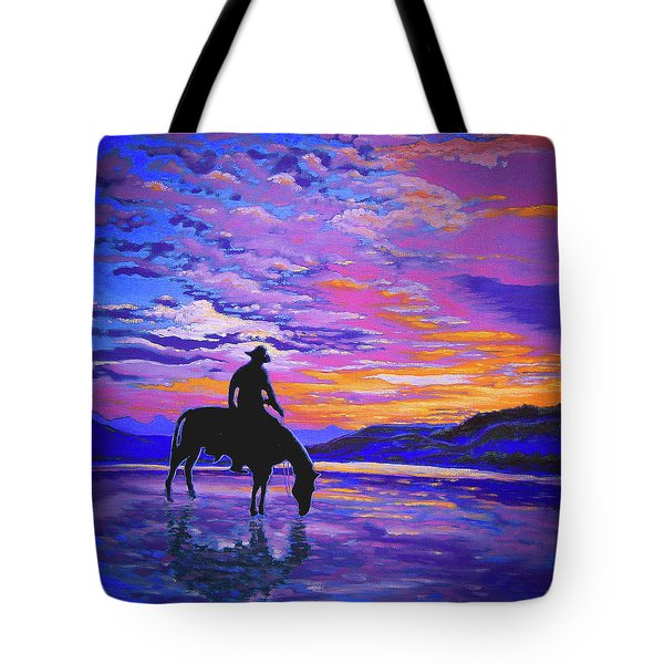 We And Still Waters Tote Bag