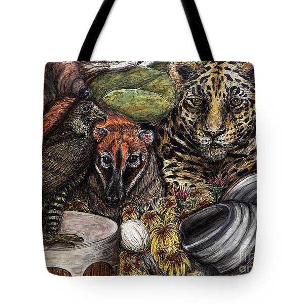 We Are All Endangered Tote Bag by Kim Jones