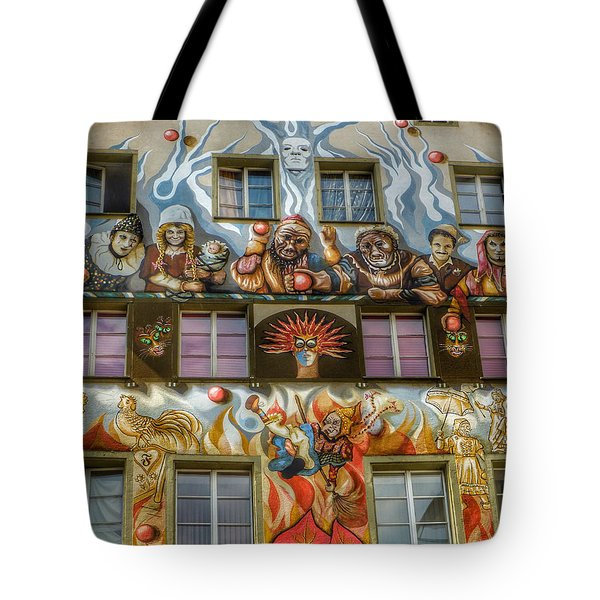 Tote Bag featuring the photograph We Are All Friends Here  by Connie Handscomb