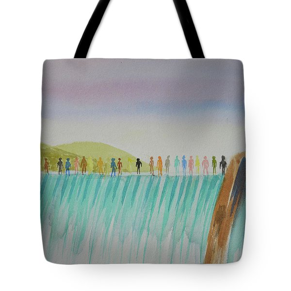 We Are All The Same 1.1 Tote Bag by Tim Mullaney