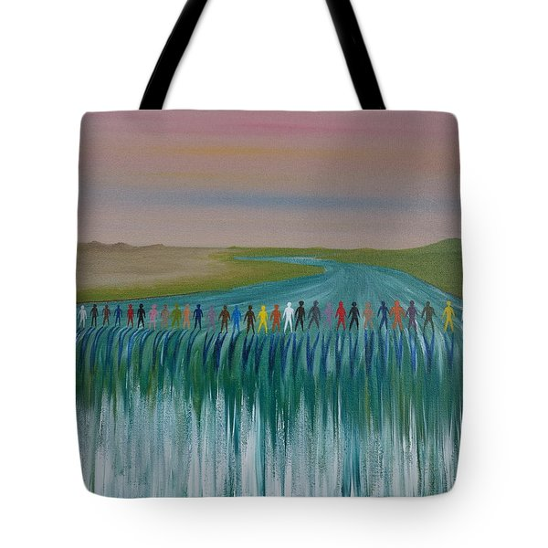 We Are All The Same 1.3 Tote Bag by Tim Mullaney