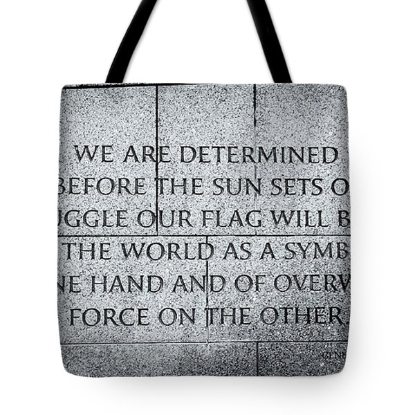 We Are Determined...... Tote Bag