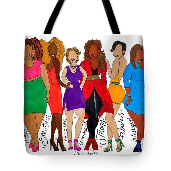 We Are Tote Bag by Diamin Nicole