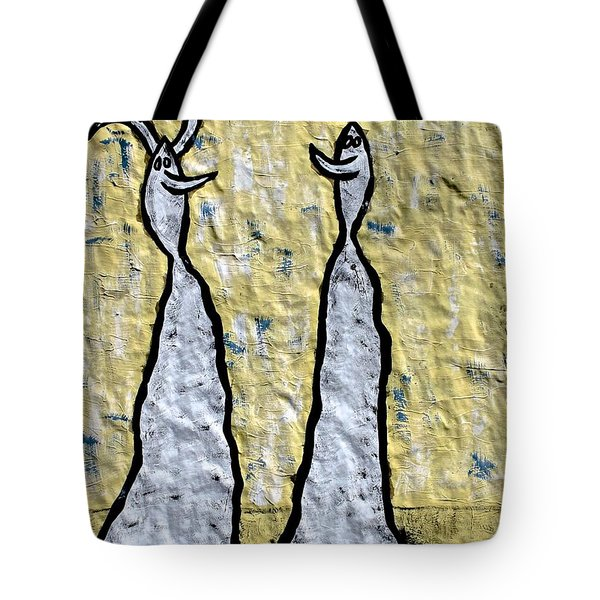 We Are Much Alike You And I Tote Bag