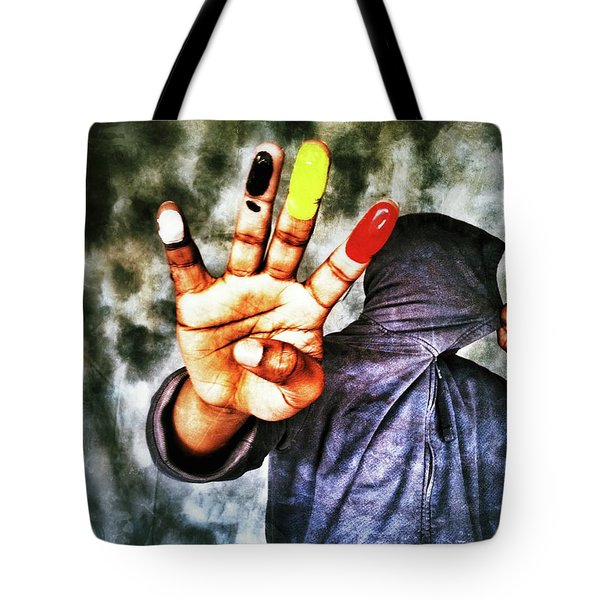 We Are One II Tote Bag