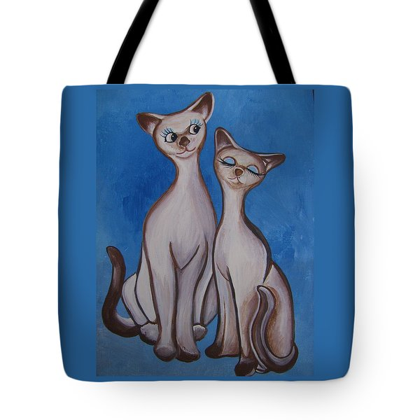 We Are Siamese Tote Bag