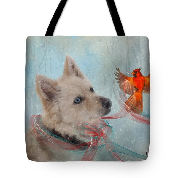 We Can All Get Along Tote Bag by Colleen Taylor