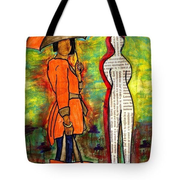 We Can Endure All Kinds Of Weather Tote Bag by Angela L Walker