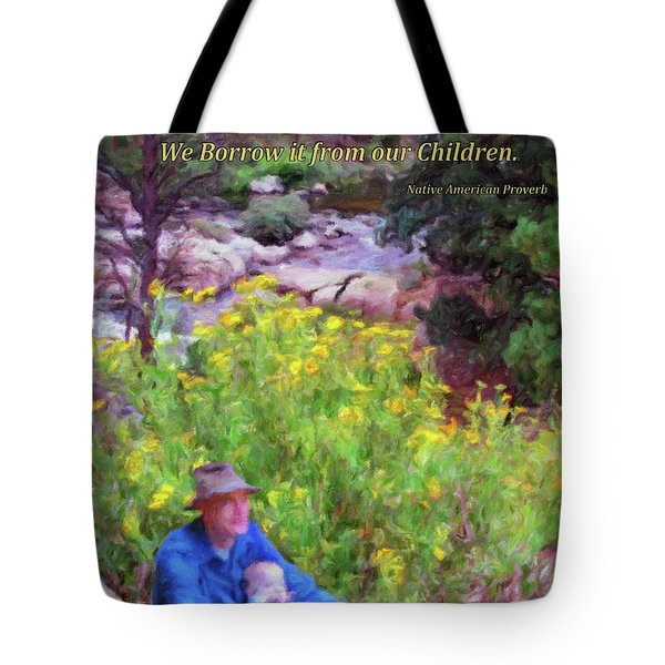 We Do Not Inherit The Earth - V2 Tote Bag