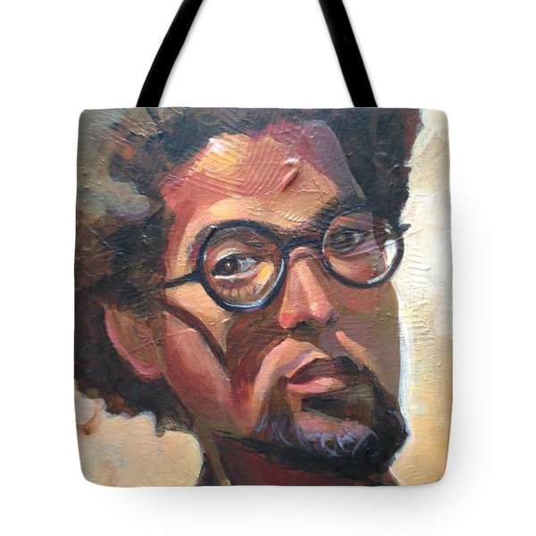 Tote Bag featuring the painting We Dream by JaeMe Bereal