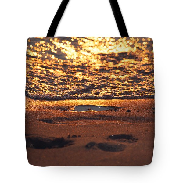 We Each Leave Our Mark, Momentarily Tote Bag