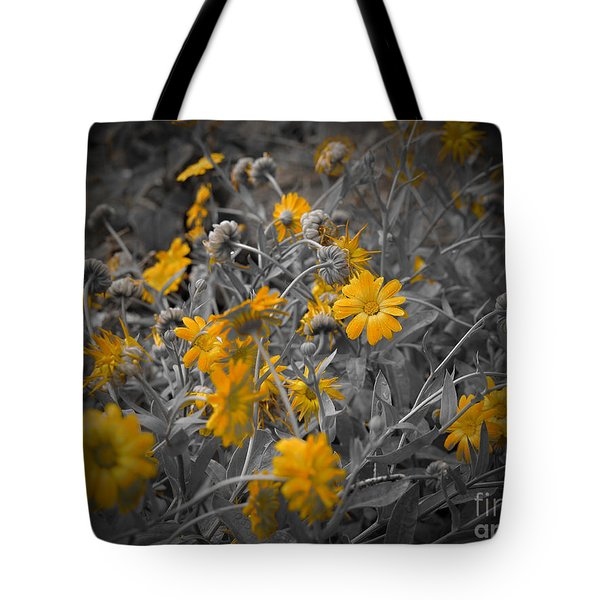 We Fade To Grey Three Tote Bag
