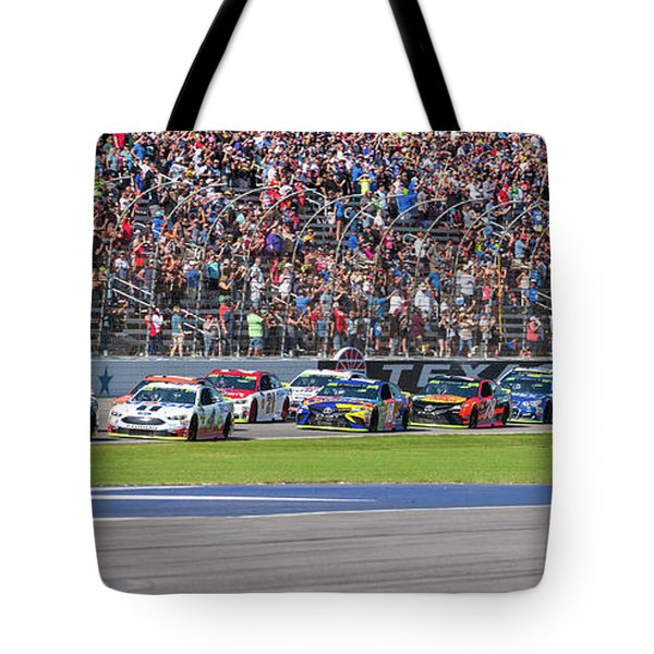 We Have A Race Tote Bag