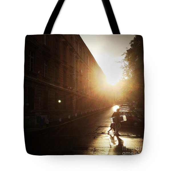 We Live In Budapest #11 Tote Bag