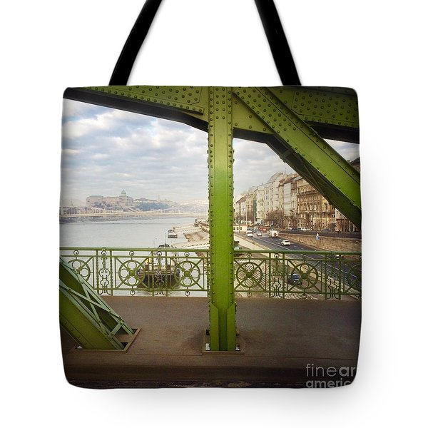 We Live In Budapest #4 Tote Bag