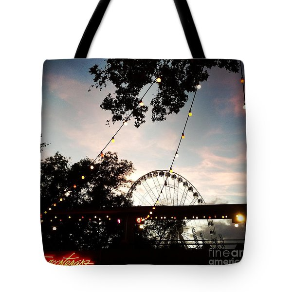 We Live In Budapest #7 Tote Bag