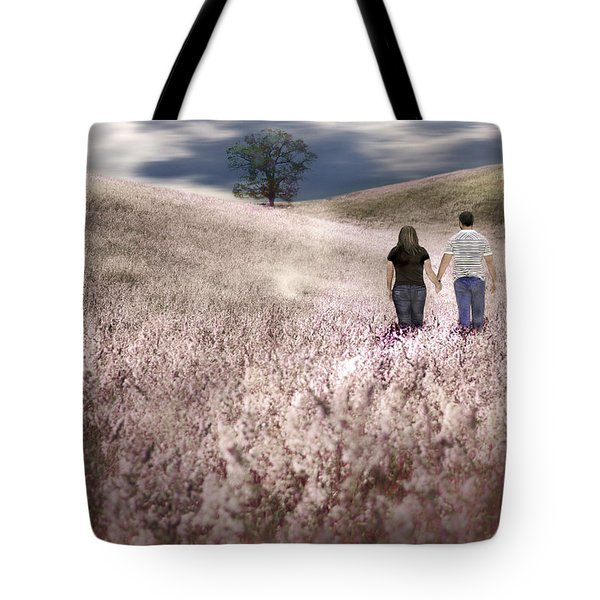We Made Love Under The Tree Tote Bag