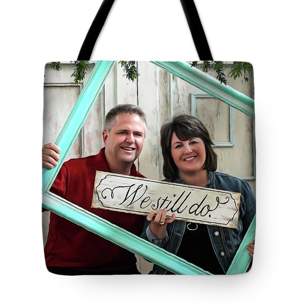 We Still Do - Special Commission Tote Bag by Jordan Blackstone