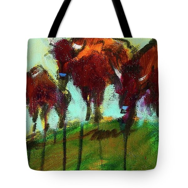 We Three Buffalo Tote Bag