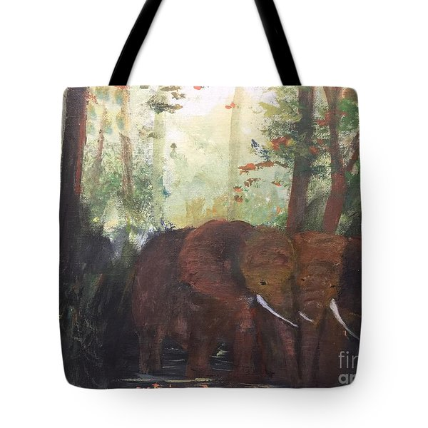 We Two Tote Bag by Trilby Cole