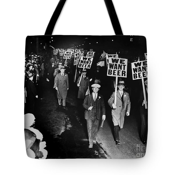 We Want Beer Tote Bag