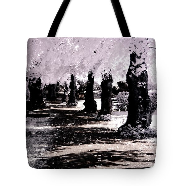 Tote Bag featuring the photograph We Will Be Trees by Helga Novelli