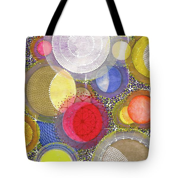 Tote Bag featuring the painting We Will Have Many Moons #2 by Kym Nicolas