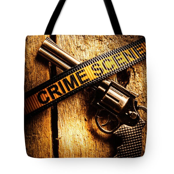 Weapon Forensics Tote Bag