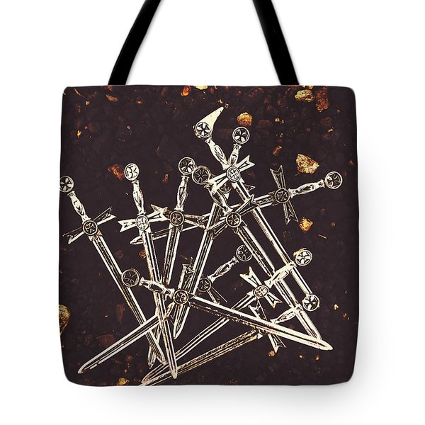 Weaponry Of Ancient War Tote Bag