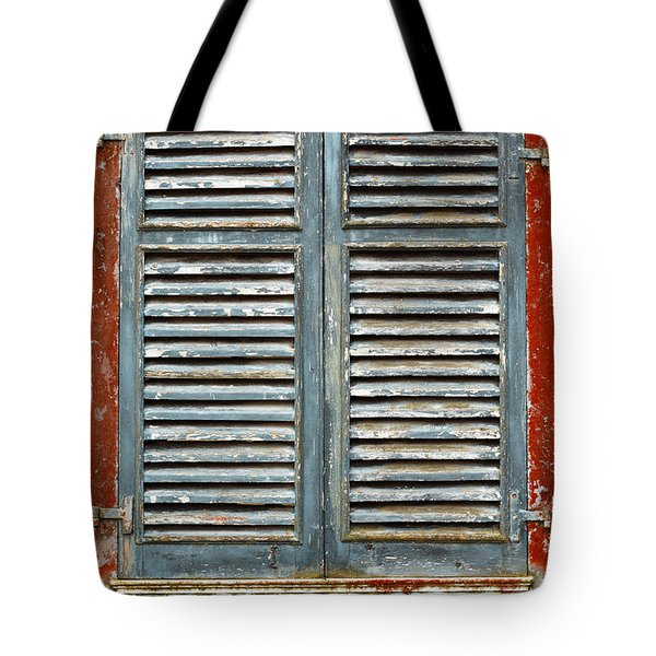 Weather-beaten Window Tote Bag by Gaspar Avila