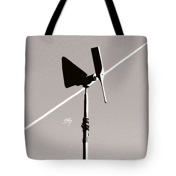 Weather Vane Tote Bag by Linda Hollis