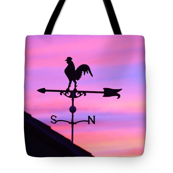 Weather Vane, Wendel's Cock Tote Bag