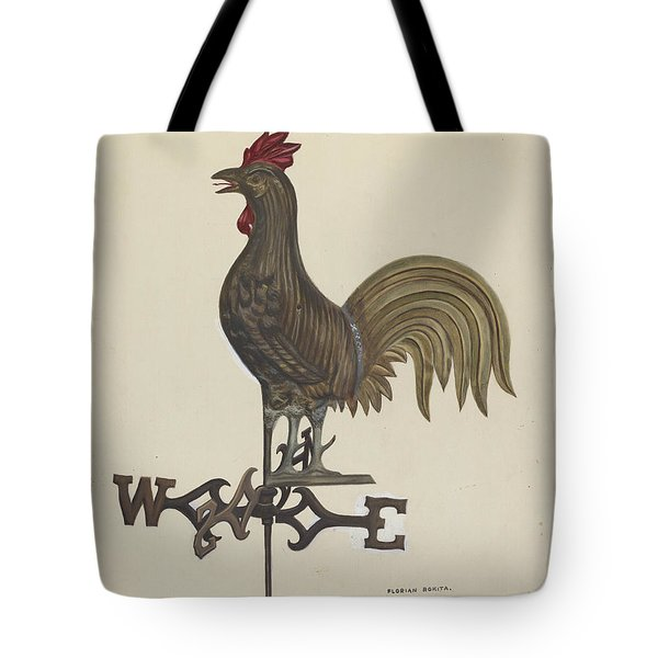 Weathercock Tote Bag