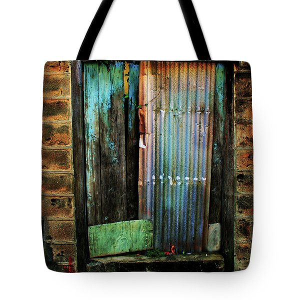 Weatherd Entry Tote Bag by Perry Webster