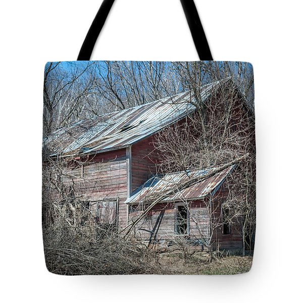 Tote Bag featuring the photograph Weathered And Broken by Dan Traun