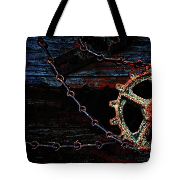 Weathered And Worn Tote Bag by Bob Orsillo