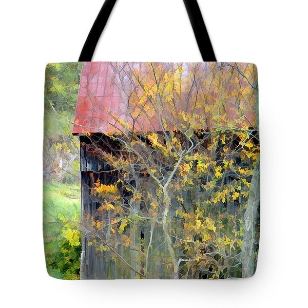 Weathered Barn 2 Tote Bag