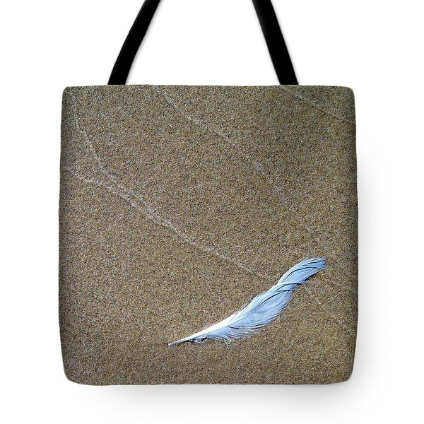 Weathered Feather  Tote Bag by Michelle Calkins