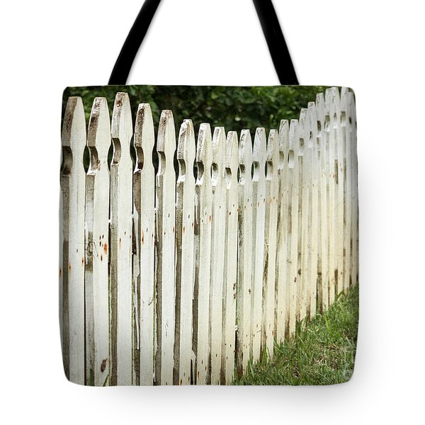 Weathered Fence Tote Bag