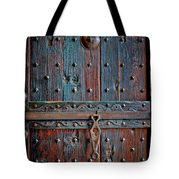 Tote Bag featuring the photograph Weathered by Gina Savage