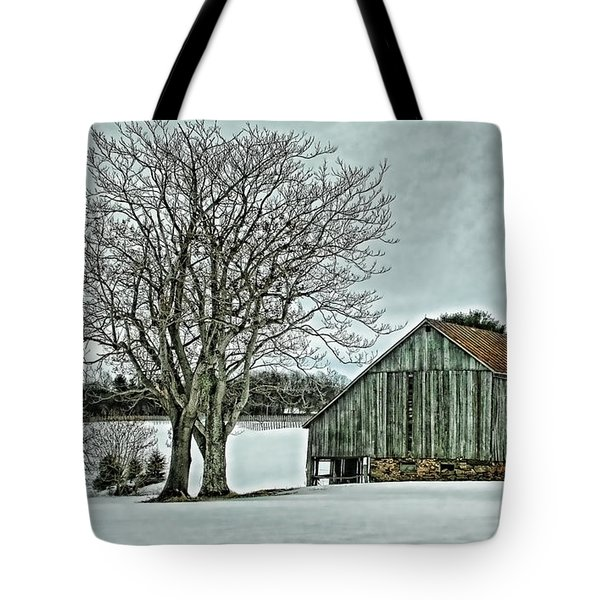 Weathered Tote Bag by Heather Applegate