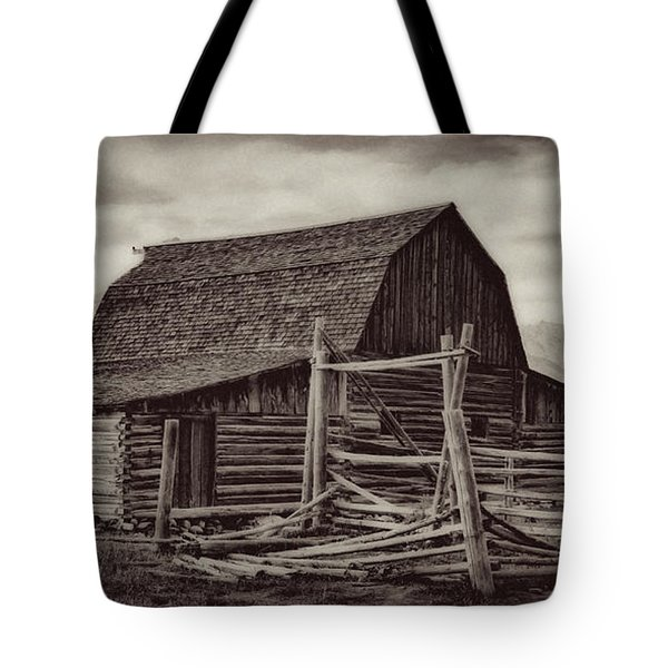 Tote Bag featuring the photograph Weathered Peaks by Lana Trussell